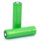 Genuine Sony 18650 2600mAh Rechargeable Battery - Green (Pair)